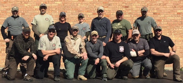 2-day Dynamic Room Entry Handgun Certification Course at the Alpha Range in McHenry, Illinois