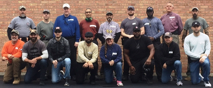 3-day Defensive Handgun Certification Course at the Alpha Range Training Facility in McHenry, Illinois