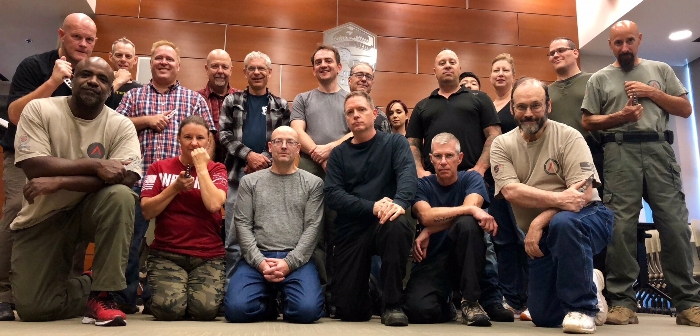 1-day Martial Blade Concepts: Defensive Knife Skills Level 1 Course at the Hoffman Estates Police Department in Hoffman Estates, Illinois