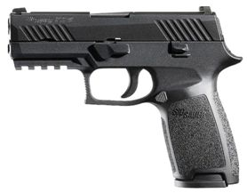 Sig Sauer P320 Carry 9mm semi-automatic pistol with Ameriglo Spartan Operator Tritium night sights
